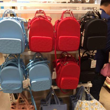 Miniso Backpack 4 usd 10 40 water cube silicone portable backpack coin bag ornaments japanese name excellence
