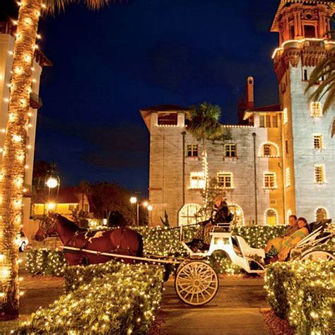 christmas lights st augustine i wanna go there pinterest