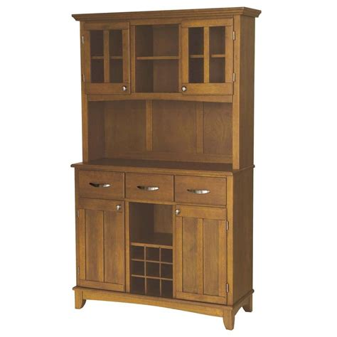 buffet ls home depot home styles cottage oak buffet with hutch 5100 0066 62