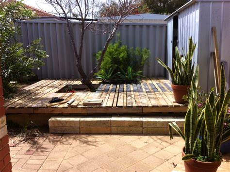 Are Modular Homes Well Built wood pallet backyard deck 4 steps with pictures