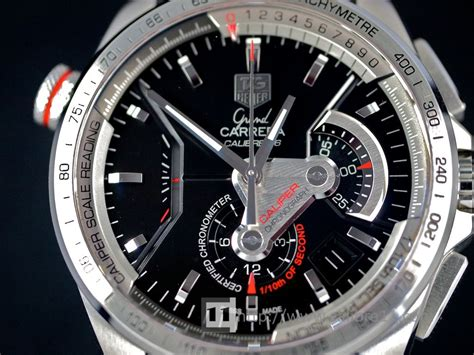 Tag Heuer Grand Calibre 36 Auto Rubber All Black Pvd on review monaco ls calibre 12 the home of tag