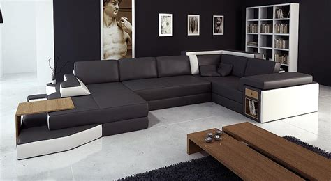 Black And White Sectional Sofa Leather Black White Sofa Sectional 14 Leather Sectionals