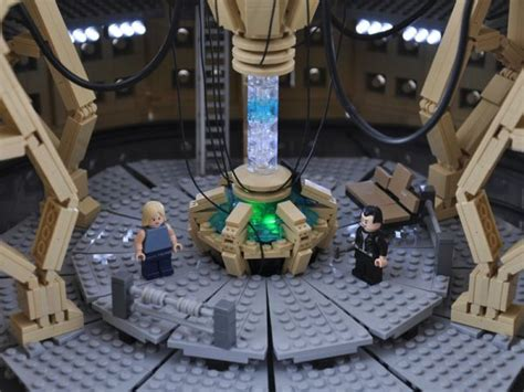 9th Doctor Tardis Interior by Tardis Console Room Built In Lego Randommization