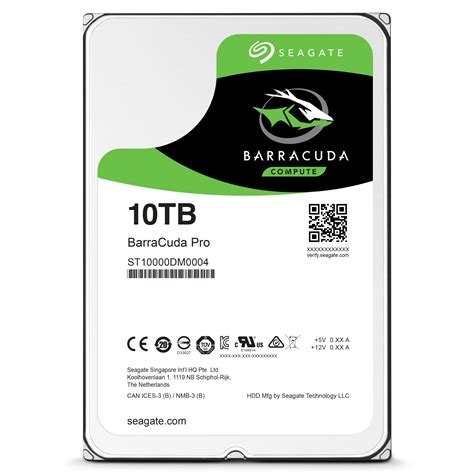 seagate unveils hard drives with up to 10tb capacity