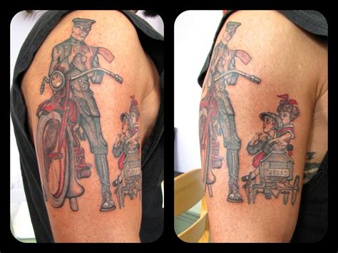 norman rockwell tattoo 10 images about tattoos on mc escher