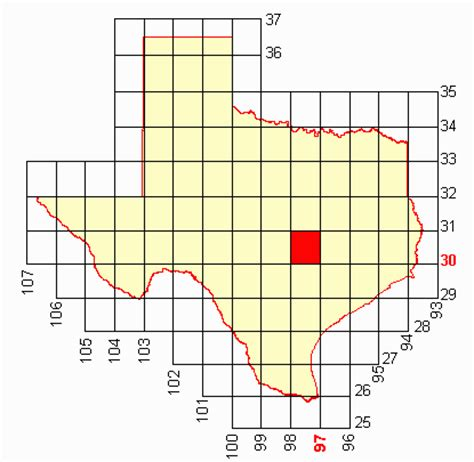 texas latitude and longitude map map latitude longitude texas