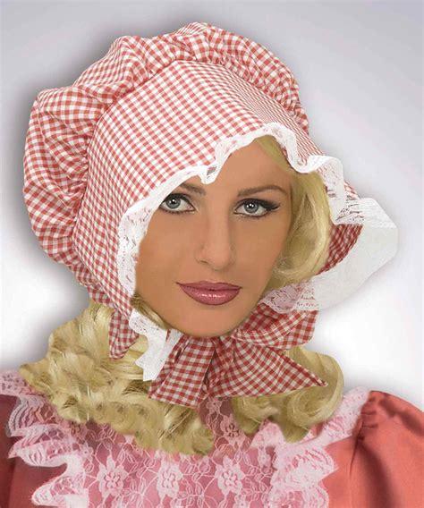 bonnet hairstyle bonnet de style prairie ac1562
