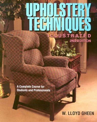Ebook Upholstery Techniques Illustrated Free Pdf Online