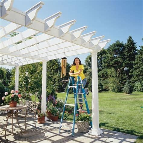 hobby giardino pergolati fai da te pergole e tettoie da giardino