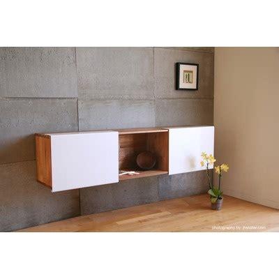 mash studios lax wall mounted desk 3x shelf wall mounted by mash studios rustic natural