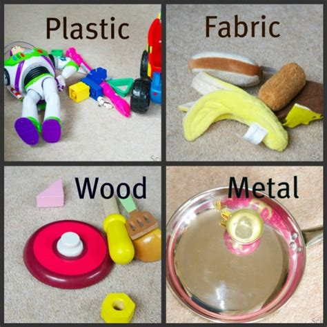 Different Materials by Learning About Materials