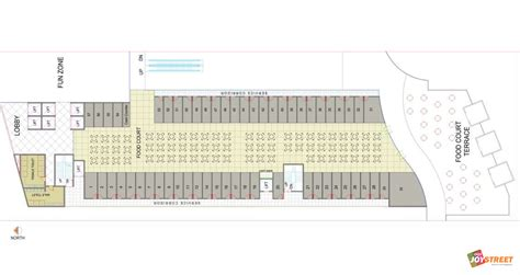food court floor plan aipl joy street gurgaon