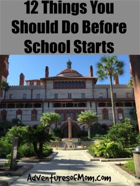 12 Things You Should Do Before You Hit 25 by 12 Things To Do Before School Starts Adventures Of