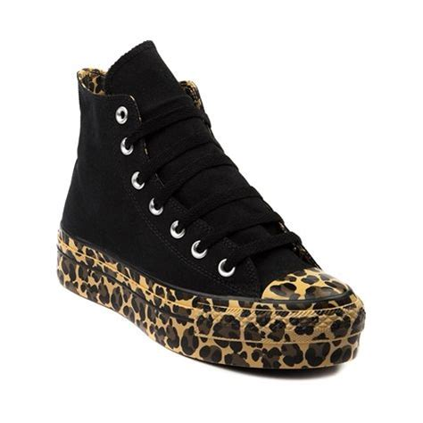 womens converse all platform hi athletic shoe black