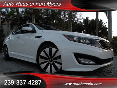 Kia Of Fort 2012 Kia Optima Sx Turbo Ft Myers Fl For Sale In Fort