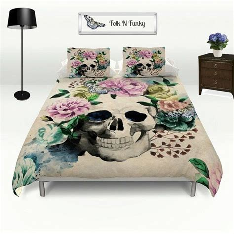 Day Of The Dead Bed Set 17 Best Images About Skull Bedding On Pinterest Comforter Cover Duvet Covers And Products