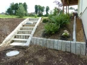 treppe anlegen gartentreppe selber bauen 40 beispiele