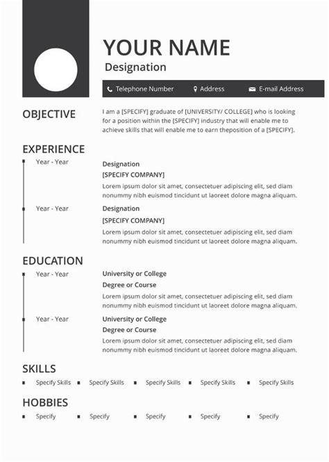 resume template downloads for mac mac resume template 36 free sles exles format free premium templates