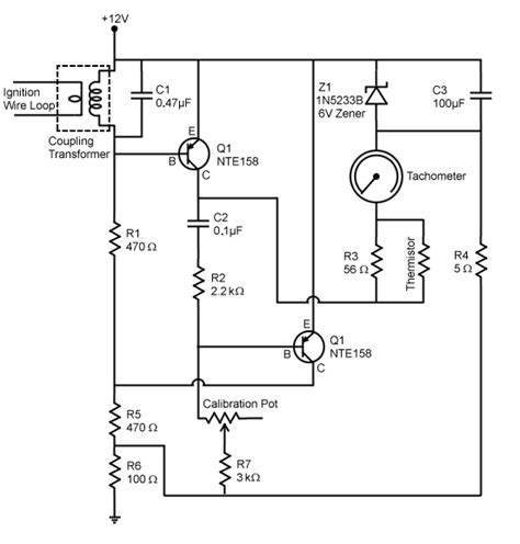 electronic wiring smith tachometer wire diagrams smith free engine image