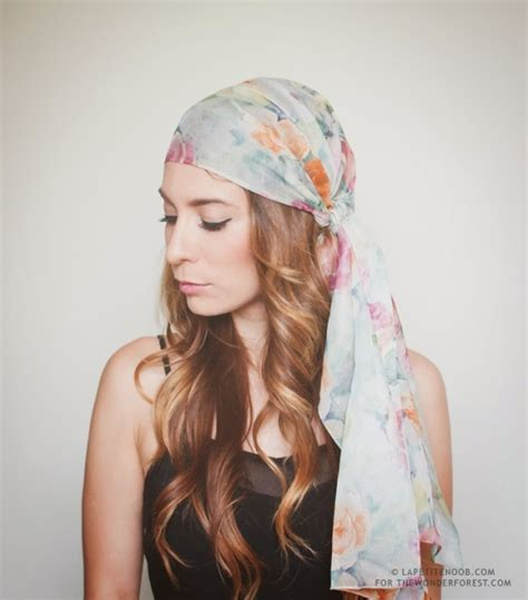 summer trend how to wear scarves