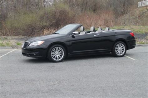 chrysler 200 hardtop convertible for sale sell used chrysler 200 limited hardtop convertible in