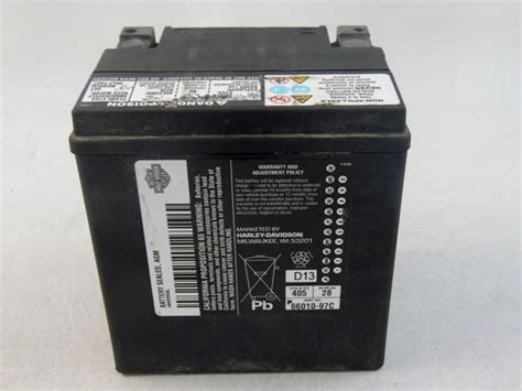 Harley Davidson Battery Warranty by Harley Davidson Battery Sealed Agm Wi 53201
