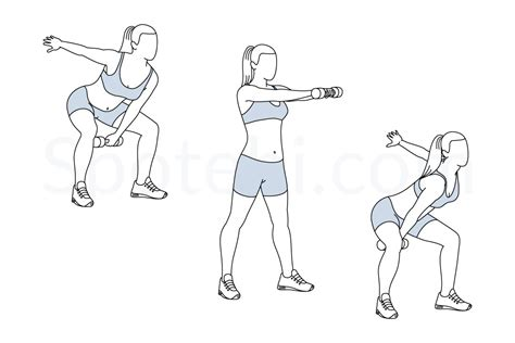 dumbbell arm swings alternating dumbbell swing illustrated exercise guide