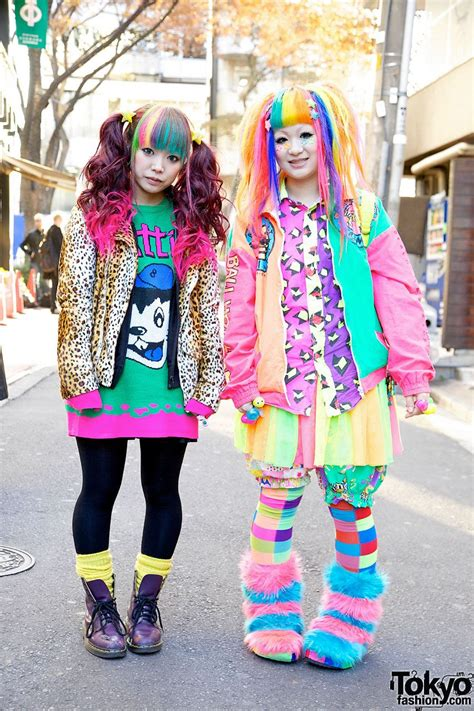 image detail for bright rainbow colored harajuku decora