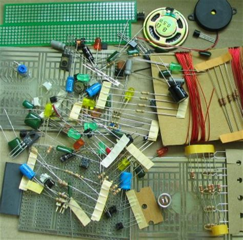 mini projects using resistors and capacitors 1 200 transistor circuits