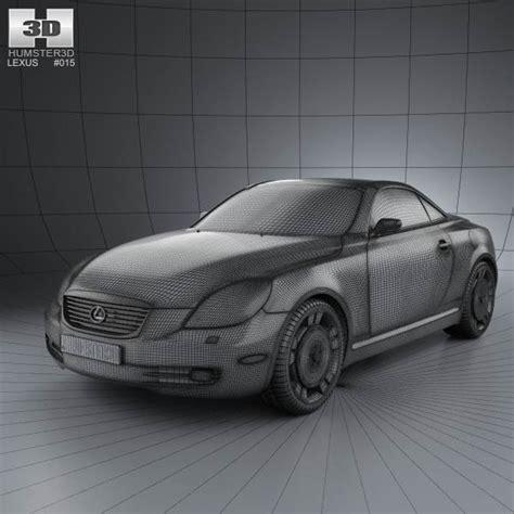 lexus models 2007 lexus sc z40 2007 3d model humster3d