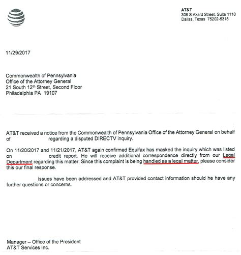 Unauthorized Credit Inquiries Letter at t directv unauthorized credit inquiry myfico 174 forums