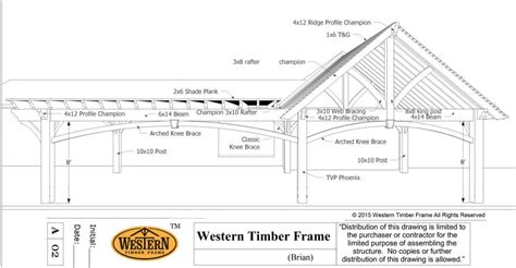 plans perspectives and elevations of timber pavilions 20 x 22 pavilion 24 x 26 pergola plan installed