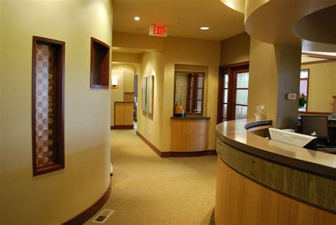 dental office front desk enviromed design dental office design