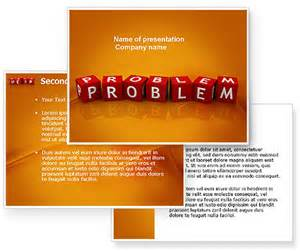 Problem Statement Template Powerpoint by Problem Powerpoint Template Poweredtemplate 03887