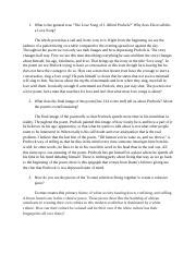 """Discussion 4.docx - 1 What is the general tone""""The Love"""