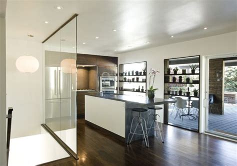 kitchen divider ideas astonishing glass kitchen divider design ideas to inspire