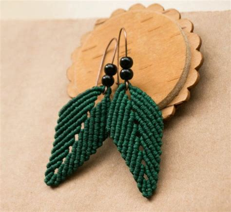 Macrame Ring Tutorial - 25 best ideas about macrame earrings tutorial on