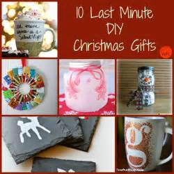 10 last minute diy gifts