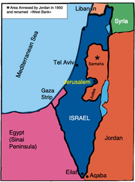 how big is the west bank hhmi israel land for peace
