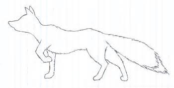 Fox Outlines by Black Fox Logo Outline By Black Fox On Deviantart