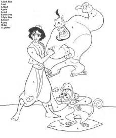 color by disney color by number disney coloring pages