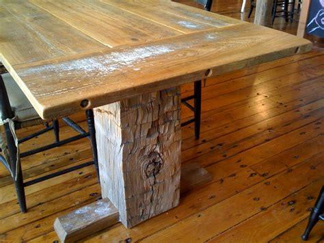 reclaimed barn wood table reclaimed barnwood custom furniture timber ridge salvage