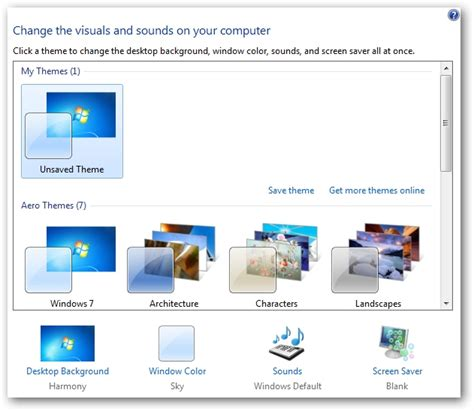 get themes pc learning windows 7 desktop themes and backgrounds