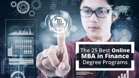 online mba best the 25 best online mba in finance degree programs