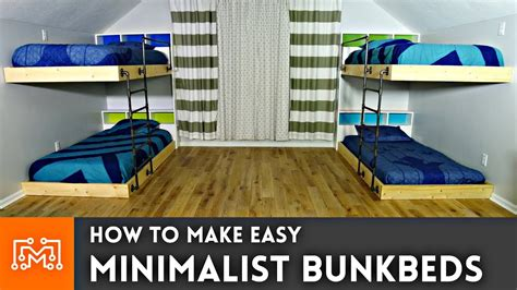 how to make a mattress easy double bunk beds woodworking how to youtube