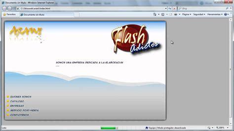 tutorial flash dreamweaver tutorial insertar swf en html flash dreamweaver cs5