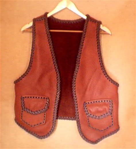 Handmade Vests - custom leather vests you design i ll build w top