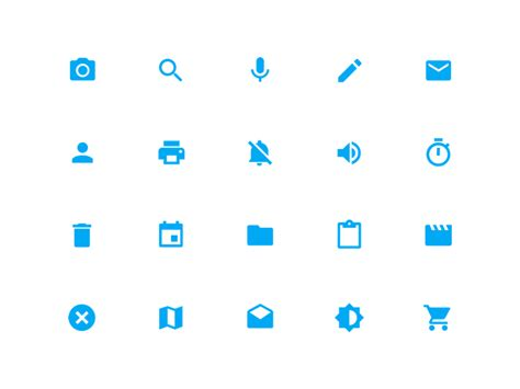 Material Design Icon Zip | system icons material design by walmyr carvalho dribbble