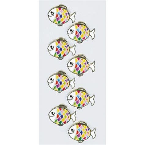 Sticker Drucken Ab 1 St Ck by R 246 Ssler Sticker Kommunion Konfirmation Bunter Fisch 6