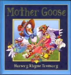 Mother Goose Nursery Rhyme Books by Treasury Of Mother Goose Rhymes By Pi Kids 9780785373919